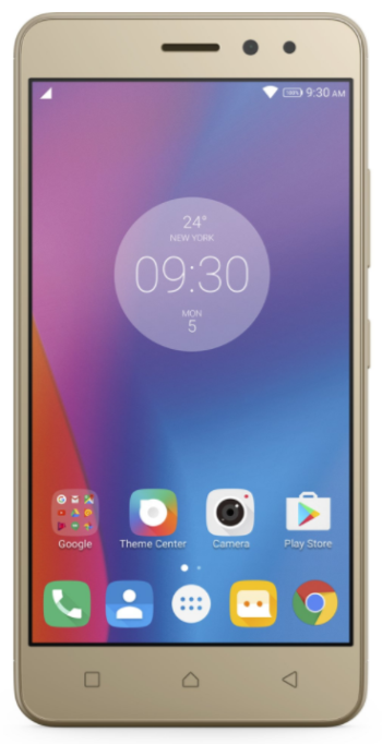 LENOVO K6 Dual 16GB Gold