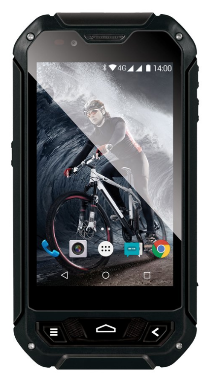 EVOLVEO StrongPhone Q5 LTE 8GB Dual Black EU