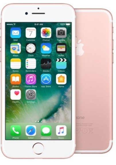 APPLE Iphone 7 256GB Rose Gold UK