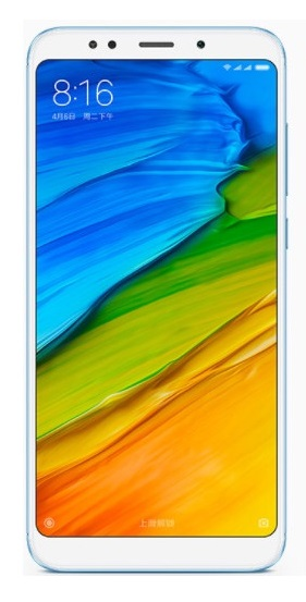 XIAOMI Redmi 5 Plus DualSim 32GB Blue Global