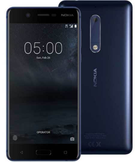 Nokia 8 64GB Dual Sim Tempered Blue