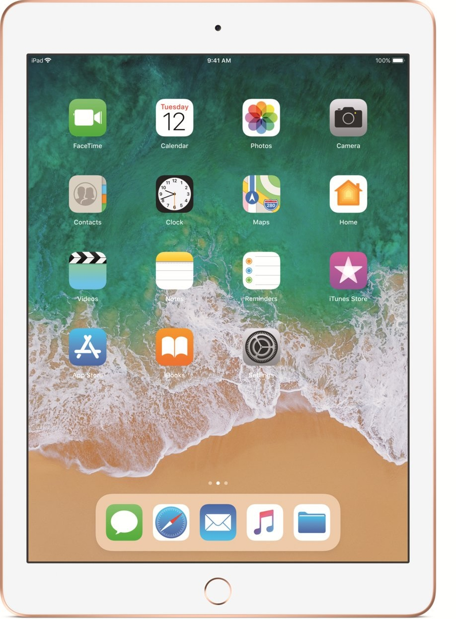 APPLE iPad 9.7 (2018) 128GB LTE Gold