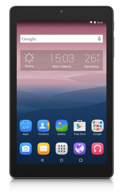 ALCATEL ONETOUCH PIXI 3 (8) WIFI, Smoky Grey - 8070-2AALCZ1