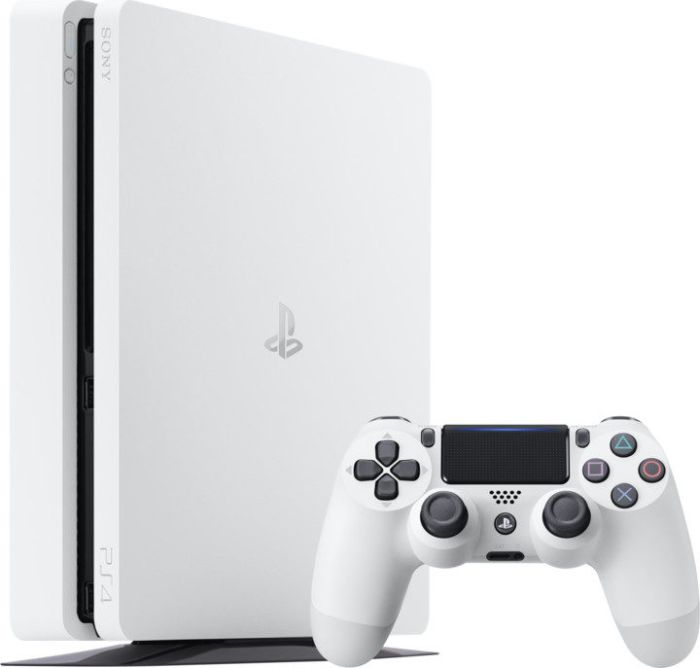 SONY PlayStation 4 - 500GB Slim White CUH-2016A