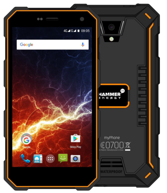 MyPhone Hammer Energy LTE orange