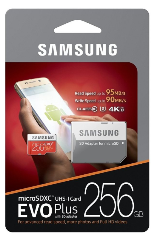 SAMSUNG micro SDXC 256GB EVO Plus (MB-MC256DA/EU)