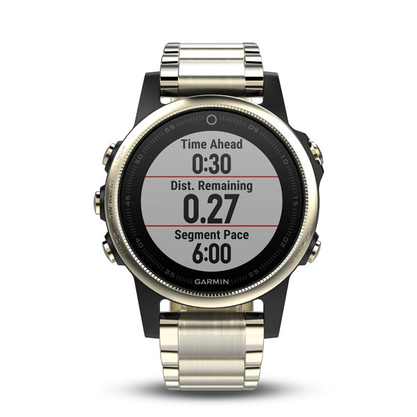 Garmin Fenix5S Sapphire Goldtone Optic Gold