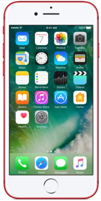 APPLE iPhone 7 256GB Red EU