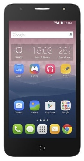 ALCATEL 5056D POP 4+ Dual 16GB Dual Grey EU