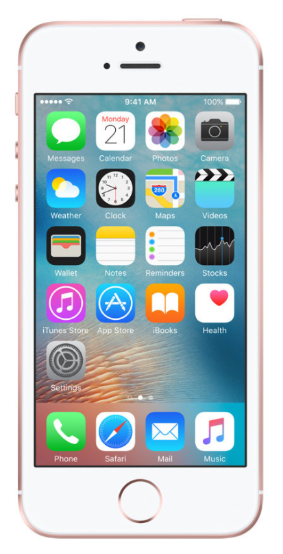 APPLE iPhone SE - 128GB Gold Rose