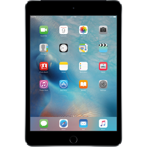 APPLE iPad Mini 4 Wi-Fi+Cellular 128GB Space Gray