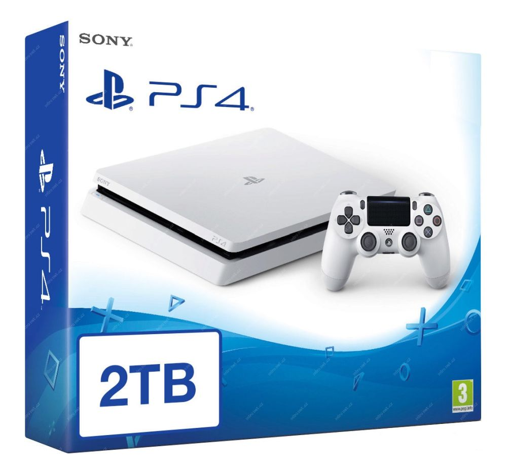 SONY PlayStation 4 - 2TB White CUH-2016