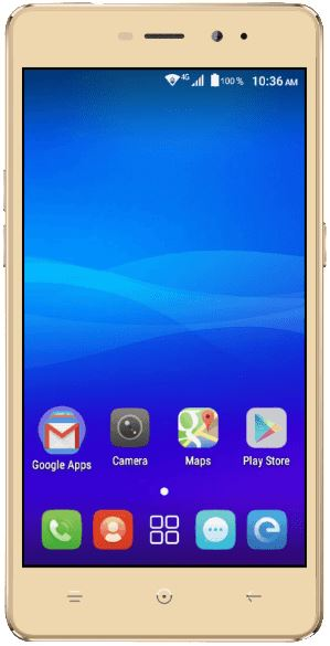 HAIER Leisure L55 Android Inch 5.0 Fingerprint Sensor Dual Sim Gold