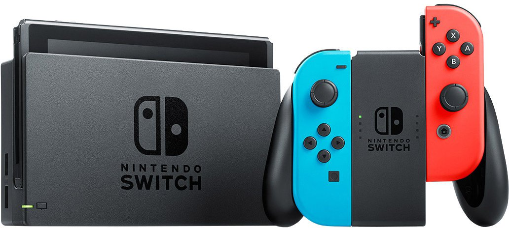 Switch Console Neon Red/Blue (Rozbaleno)