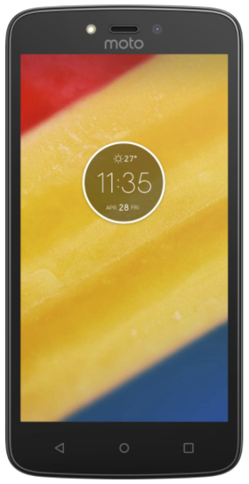 MOTOROLA Moto C Plus Dual SIM Red