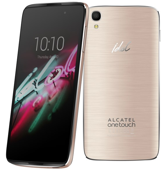 ALCATEL Idol 6045y 3 16GB Soft Gold