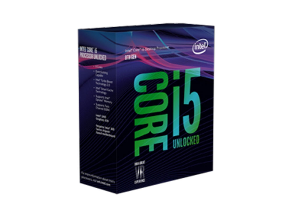 Intel Core i5-8600K @ 3.6GHz