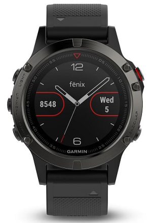 Garmin Fenix5 Gray Optic TRI Performer Black