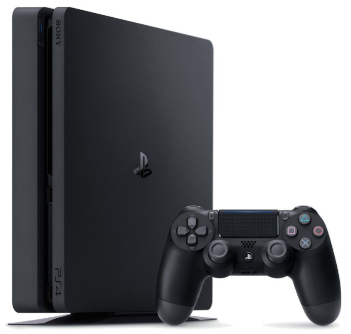 SONY PlayStation 4 - 500GB Slim Black CUH-2116A