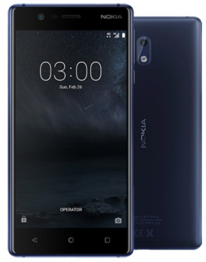 NOKIA 3 4G 16GB Dual-SIM tempered blue EU