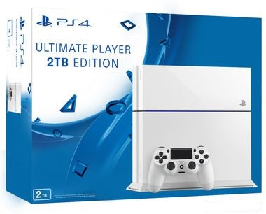SONY PlayStation 4 - 2TB White CUH-1216