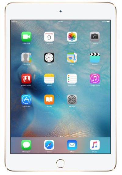 APPLE iPad Mini 4 128GB WiFi Gold (MK9Q2FD/A)