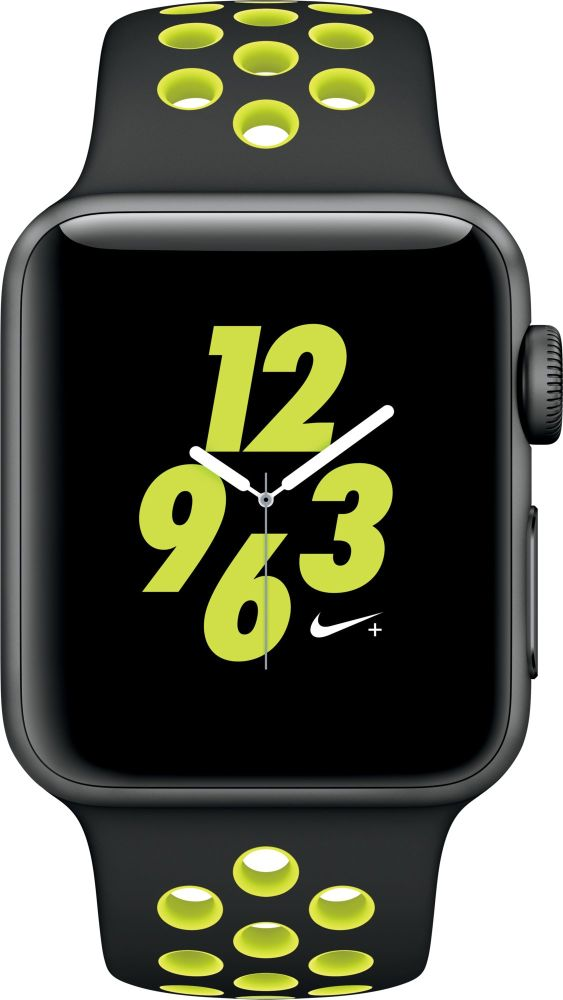 APPLE Watch 2 SPORT NIKE+ Space Grey - BlackVolt (MP082)