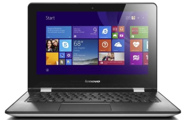LENOVO IdeaPad Yoga 300-11IBR 32GB white (80M100SUCK)