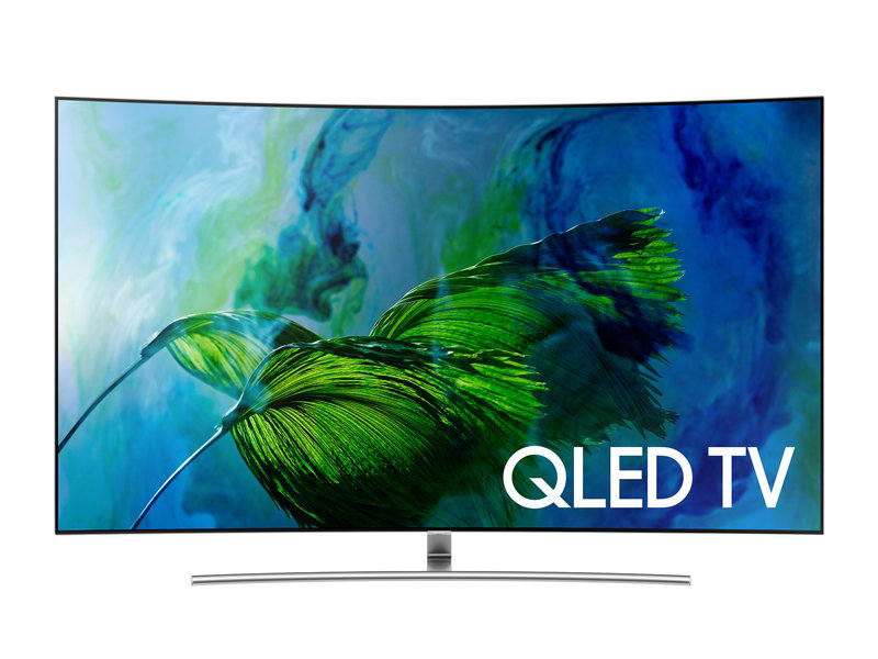 SAMSUNG TV QE 55 Q8 CAM (curved)