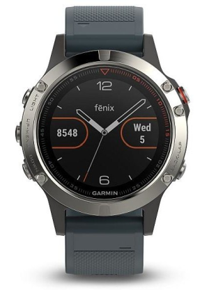 Garmin Fenix5 Silver Optic Blue
