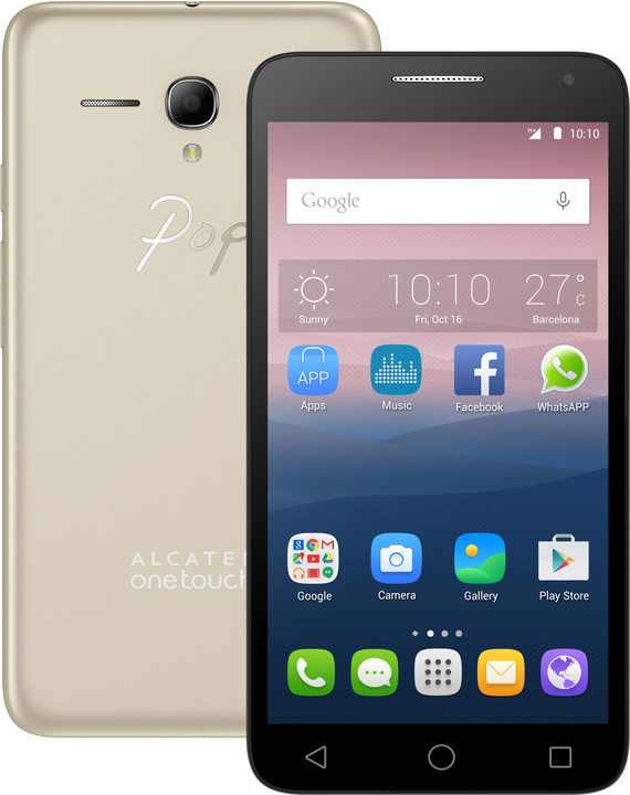 ALCATEL One Touch 5025D POP 3 Soft Gold