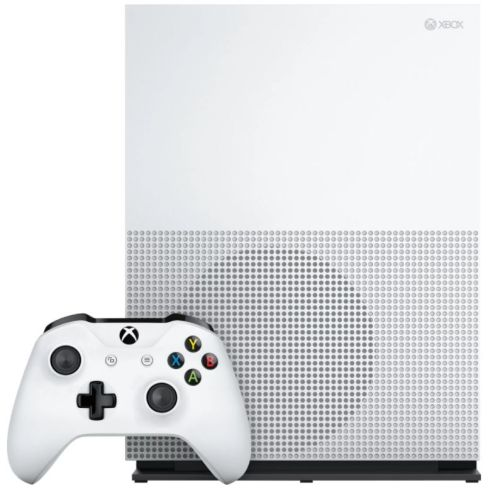 MICROSOFT Xbox One S 1TB White + Assassin's Creed: Origins + Rainbow Six: Siege