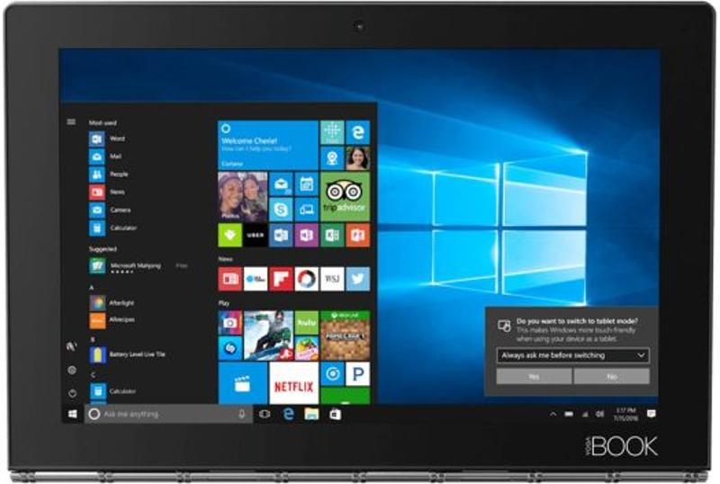 LENOVO Yoga Book ZA160001CZ Black