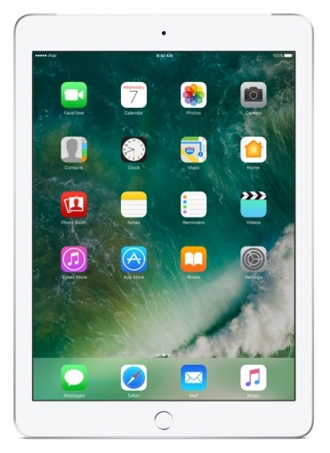APPLE iPad Wi-Fi + Cellular 128GB (2017) Silver (MP272FD/A)