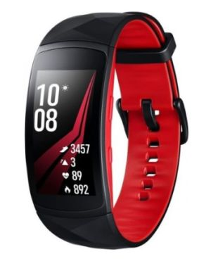 SAMSUNG Gear Fit2 Pro black - red