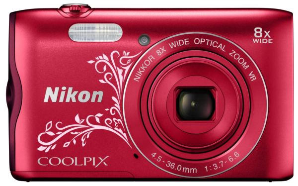 Nikon COOLPIX A300 Red-F