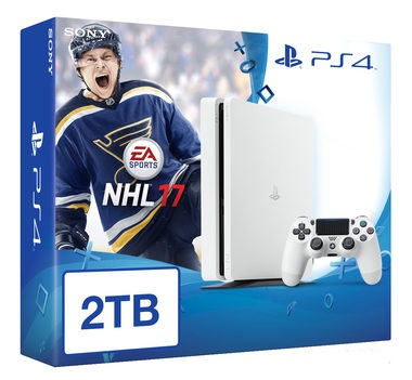 SONY PlayStation 4 - 2TB White CUH-1216A + NHL 2017