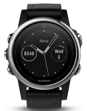 Garmin Fenix5S Silver Optic Black