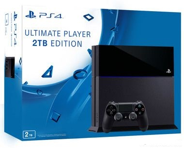 SONY PlayStation 4 - 2TB Black CUH-1216