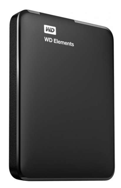 Western Digital Elements Portable 1TB (WDBUZG0010BBK-EESN)