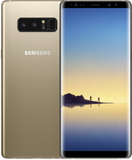 SAMSUNG Galaxy Note 8 N950F 64GB Dual Sim Gold