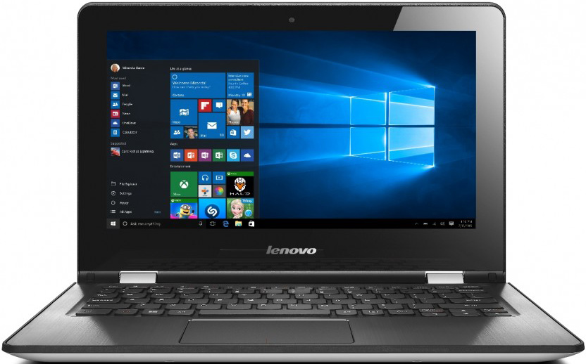 LENOVO IdeaPad Yoga 300-11IBR bílá + Office 365 80M100SNCK