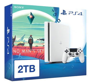 SONY PlayStation 4 - 2TB White CUH-1216A + No Man's Sky
