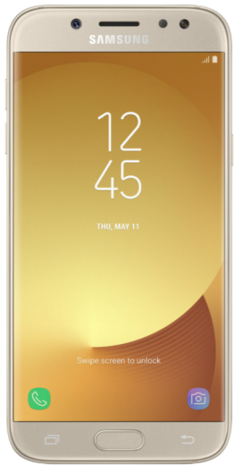 SAMSUNG Galaxy J5 (2017) SM-J530F 16GB Gold EU