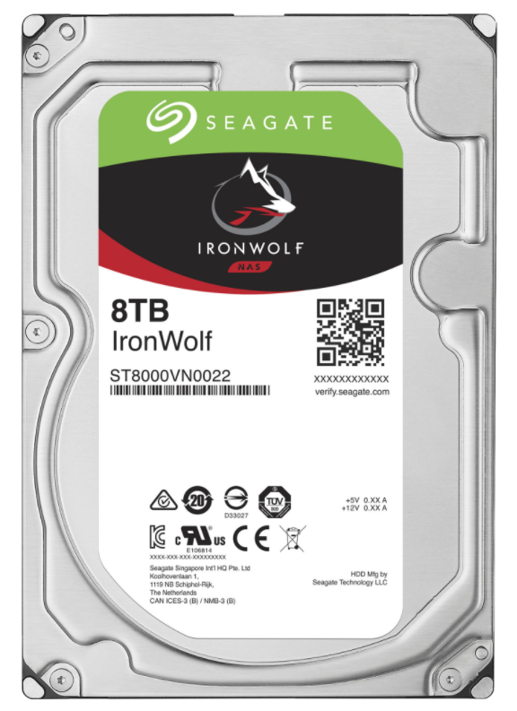 Seagate IronWolf 8TB (ST8000VN0022)