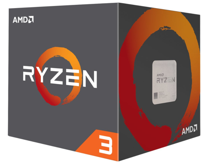 AMD RYZEN 3 1300X @ 3.5GHz