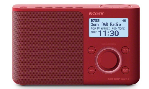 SONY XDR-S61DR Red (XDRS61DR.EU8)