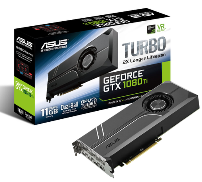 ASUS TURBO GTX1080TI-11G